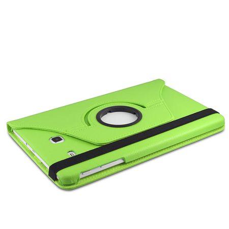 Samsung Galaxy Tab S3 9.7 360° Flip Etui Leder Smart Case Tasche Hülle GRÜN – Bild 3