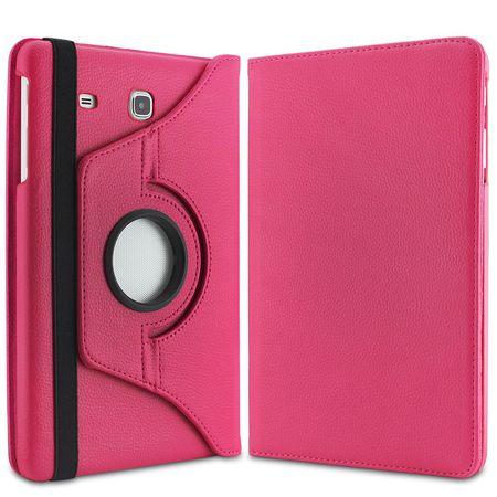 Samsung Galaxy Tab S3 9.7 360° Flip Etui Leder Smart Case Tasche Hülle PINK Rosa – Bild 5