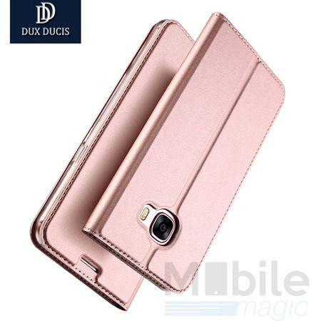 Samsung Galaxy A3 2017 DUX DUCIS Flip Etui Leder Case Tasche Hülle ROSÉGOLD / PINK – Bild 2