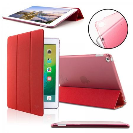 iPad Air 1 Smart Case + Back Cover ( Vorder & Hinterseite) in ROT red – Bild 1