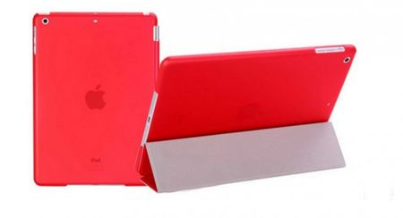 iPad Air 1 Smart Case + Back Cover ( Vorder & Hinterseite) in ROT red – Bild 5