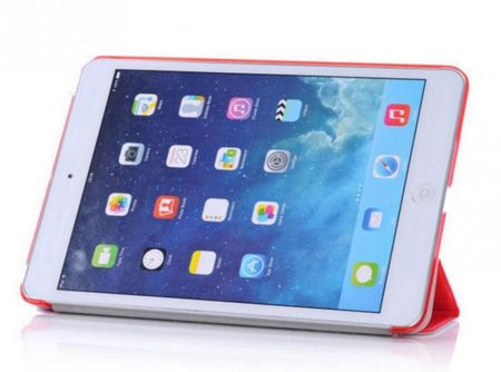 iPad Air 1 Smart Case + Back Cover ( Vorder & Hinterseite) in ROT red – Bild 4