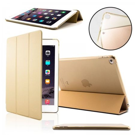 iPad mini 4 Smart Case + Back Cover ( Vorder & Hinterseite) in GOLD – Bild 1