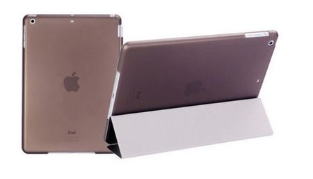 iPad mini 1 / 2 / 3 Smart Case + Back Cover ( Vorder & Hinterseite) in SCHWARZ  Retina – Bild 2