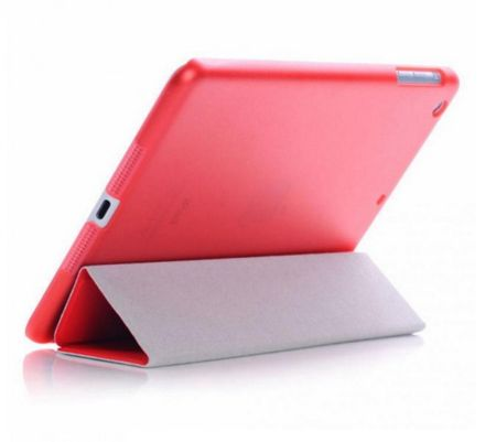 iPad mini 1 / 2 / 3  Smart Case + Back Cover ( Vorder & Hinterseite) in ROT Retina – Bild 3