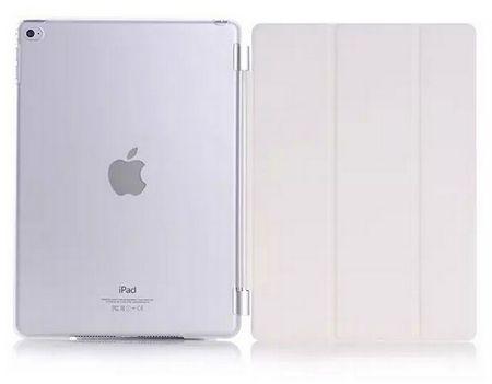 iPad mini 1 / 2 / 3 Smart Case + Back Cover ( Vorder & Hinterseite) in WEISS Retina – Bild 1
