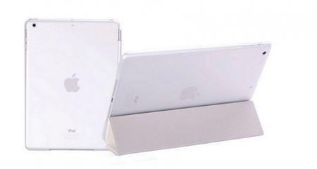 iPad mini 1 / 2 / 3 Smart Case + Back Cover ( Vorder & Hinterseite) in WEISS Retina – Bild 2