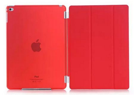 "iPad PRO 12.9"" Smart Case + Back Cover ( Vorder & Hinterseite) in ROT  – Bild 2"