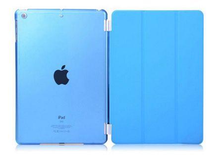 "iPad PRO 12.9"" Smart Case + Back Cover ( Vorder & Hinterseite) in BLAU Sky-blue – Bild 1"