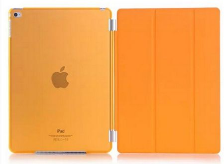 "iPad PRO 12.9"" Smart Case + Back Cover ( Vorder & Hinterseite) in ORANGE – Bild 1"