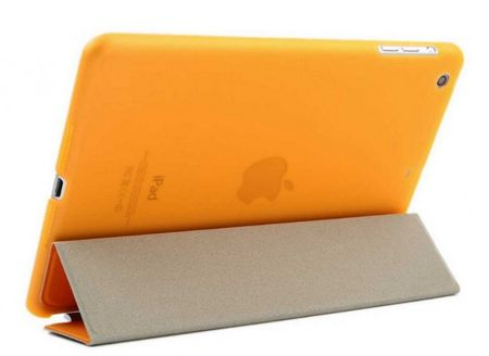 "iPad PRO 12.9"" Smart Case + Back Cover ( Vorder & Hinterseite) in ORANGE – Bild 2"
