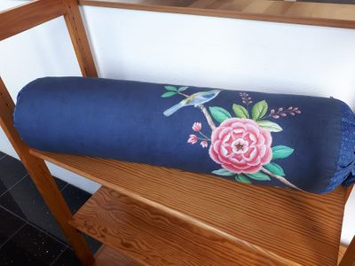Dekokissen / PIP Cushion Morning Glory Dark blue