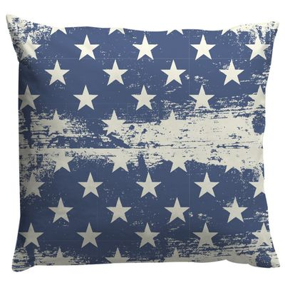 Dekokissen / Covers & Co USA Navy/White 40 x 40  cm