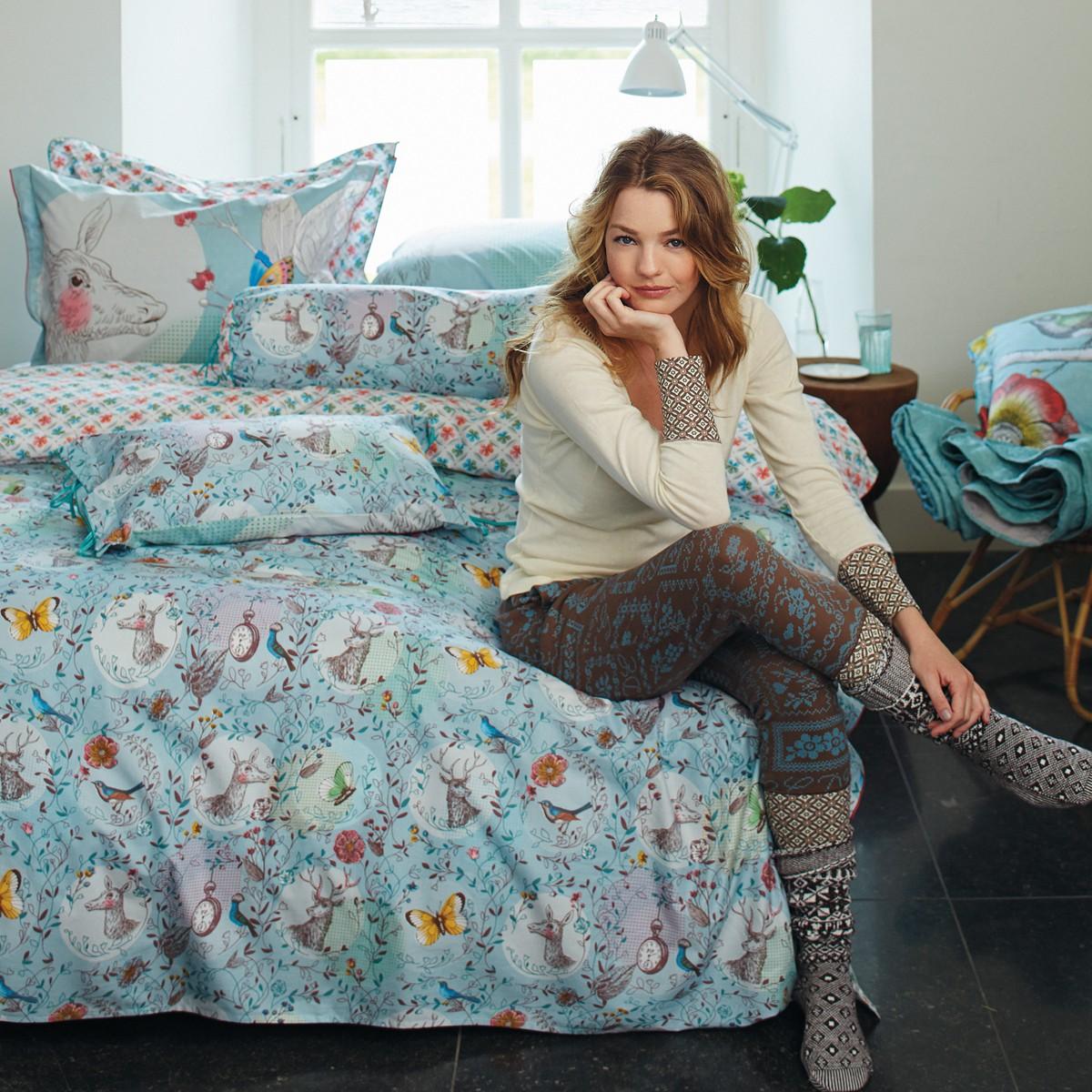 bettw sche pip studio oh deer blue bettw sche perkalbettw sche. Black Bedroom Furniture Sets. Home Design Ideas