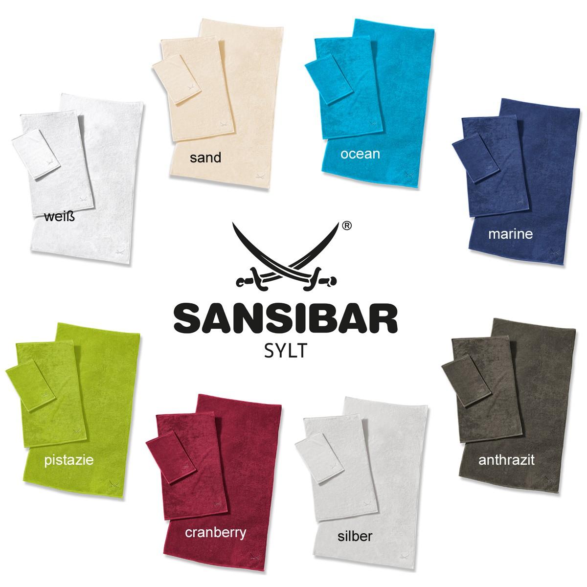 handt cher sansibar handtuch mit stickerei 60 x 110 cm. Black Bedroom Furniture Sets. Home Design Ideas