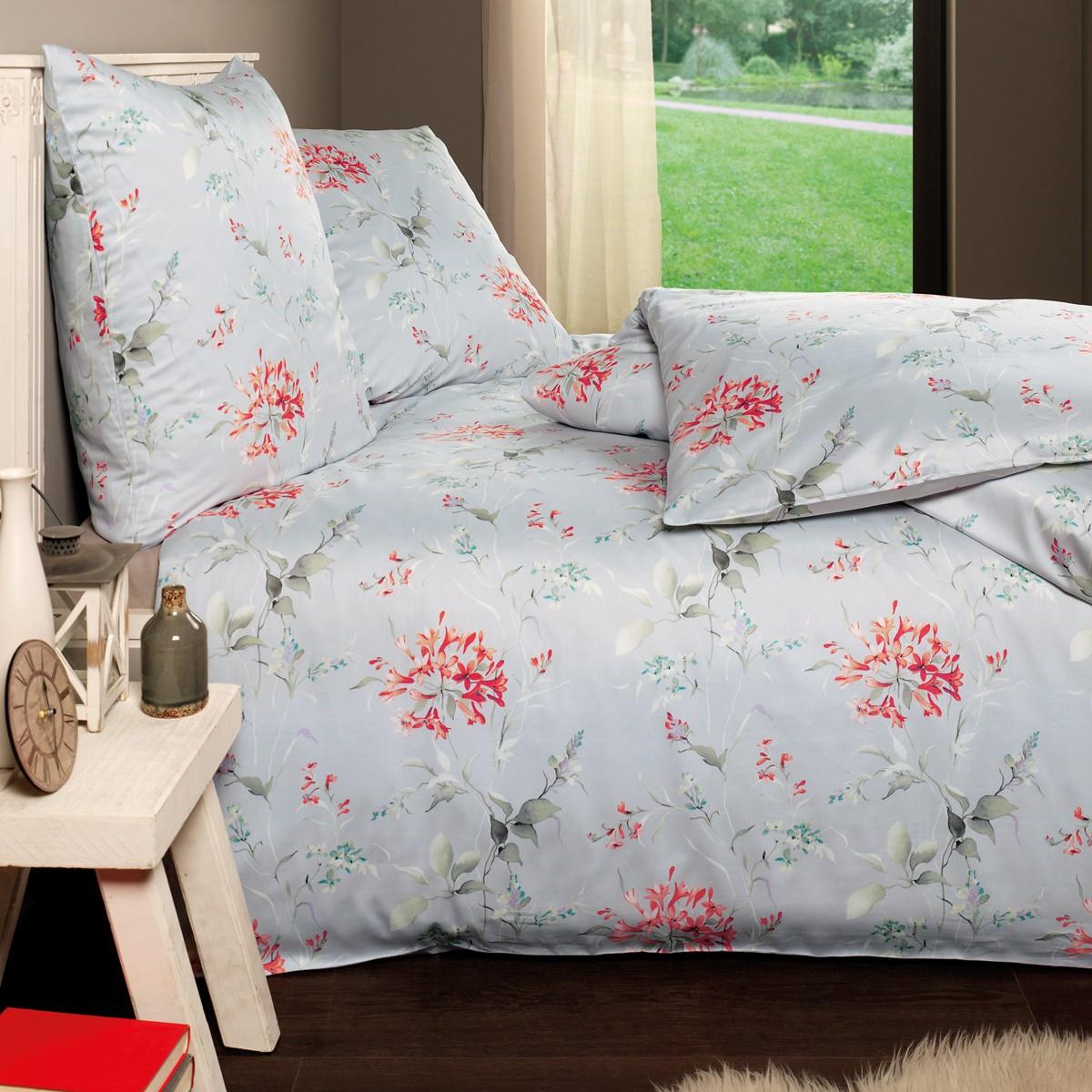mako satin bettw sche estella freia silber bettw sche mako satin bettw sche. Black Bedroom Furniture Sets. Home Design Ideas