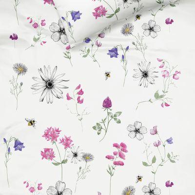 Mako-Satin Bettwäsche fleuresse Modern Garden magnolie