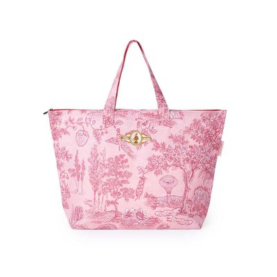 Strandtasche PIP Beach Bag Hide & Seek pink