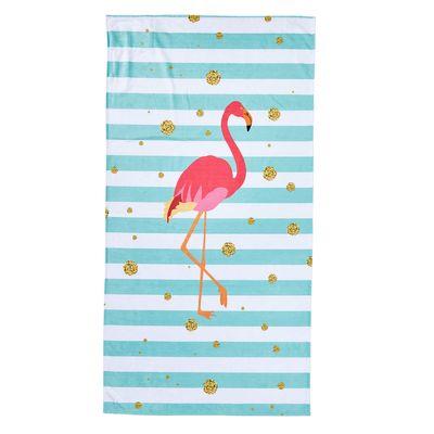 Hamamtuch / Strandtuch DONE Case Flamingo 90 x 180 cm