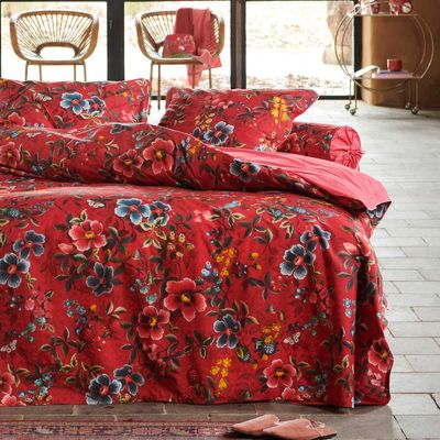 PIP Studio Bettwäsche Floral Delight red