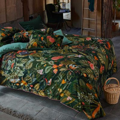 PIP Studio Bettwäsche Forest Foliage green