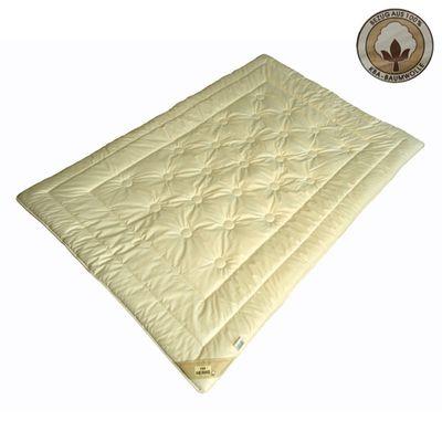Schurwolldecke KBA/KBT MERINO Duo-Warm Garanta Bio Cotton