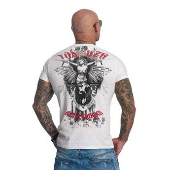 Yakuza T-Shirt Herren TSB 617 Underground weiß