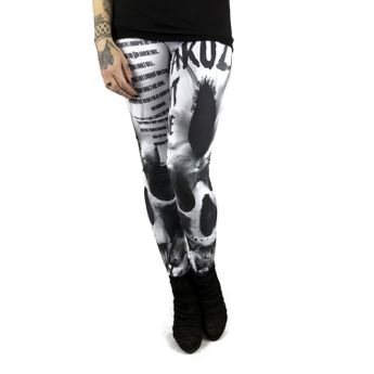 Yakuza Leggings Damen Commandments LEB 9146 weiß online kaufen