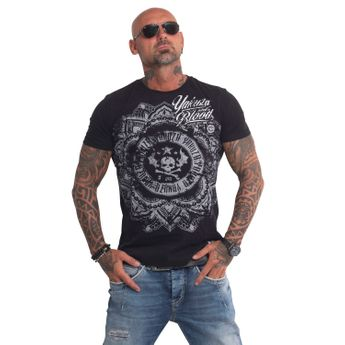 Yakuza Herren T-Shirt Inked In Blood TSB 9013 schwarz