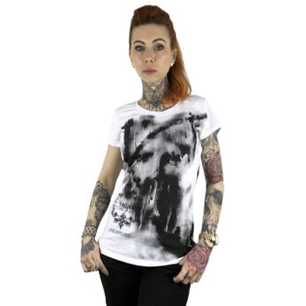 Yakuza Shirt Damen No Light T-Shirt GSB 10110 weiß