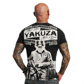 Yakuza T-Shirt Herren UNTD TSB 10017 schwarz