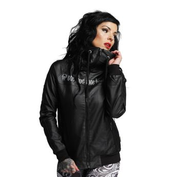 Yakuza Damen Jacke Kunsteder One Love Jacket GJB 10132 schwarz