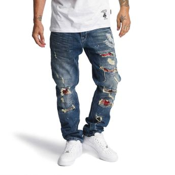 Yakuza Jeans Herren Skeleton Loose Fit JEB 10065 medium distressed