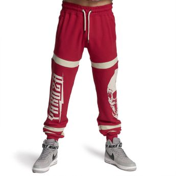 Yakuza Jogginghose Herren Skull Jogger JOB 11028 ribbon red