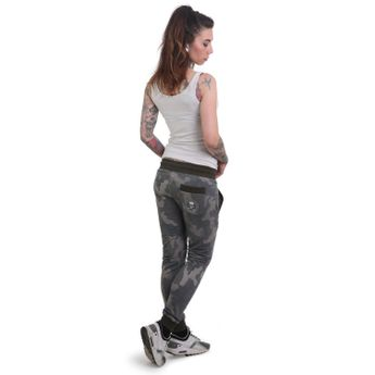 Yakuza Jogginghose Damen Rookie Skinny Jogger GJOB 12138 camouflage online kaufen