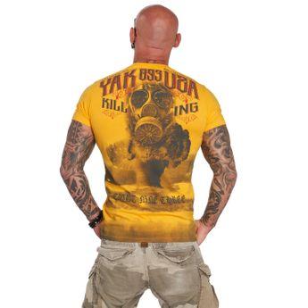 Yakuza Herren T-Shirt Fallout TSB 12017 gold fusion