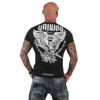 Yakuza Herren T-Shirt Eagle TSB 12020 schwarz online kaufen