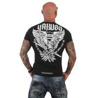 Yakuza Herren T-Shirt Eagle TSB 12020 schwarz 001