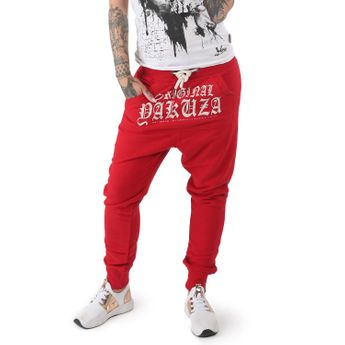 Yakuza Damen Jogginghose Everyday Pouch GJOB 12136 ribbon red rot