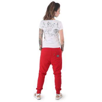 Yakuza Damen Jogginghose Everyday Pouch GJOB 12136 ribbon red rot online kaufen
