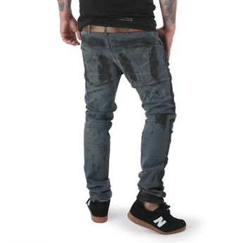Yakuza Jeans Herren 893 Straight Fit JEB 12089 oil distressed