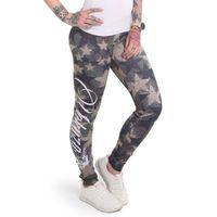 Yakuza Leggings Damen Stars camouflage 001