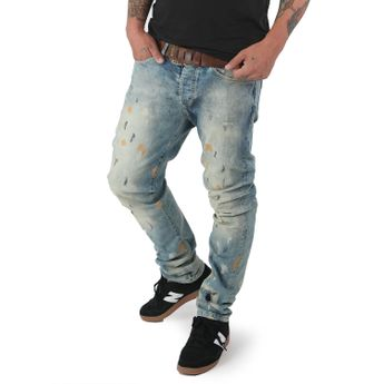 Yakuza Jeans Herren 893 Straight Fit JEB 12078 light distressed