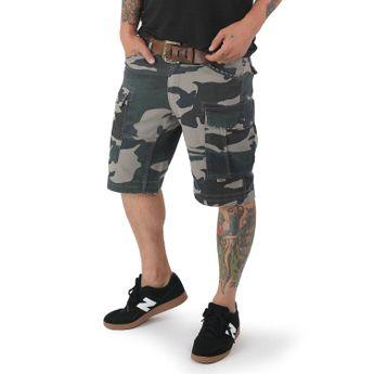 Yakuza Cargo Shorts Herren Survivor CSB 12087 camouflage