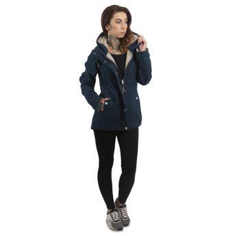 ragwear Damen Übergangs-Outdoorjacke Enrica blau online kaufen