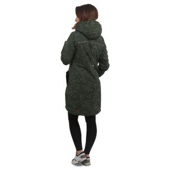 ragwear Damen Wintermantel Jacke Elba Tawny Camo dunkelgrün online kaufen