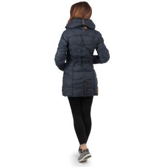 naketano Damen Stepp-Mantel Knastrologin Dark Blue online kaufen