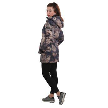 Yakuza Damen Winter-Mantel Fallen Leafs Parka GJB 12146 simply taupe online kaufen