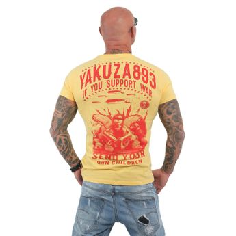 Yakuza Herren T-Shirt Support? TSB 13042 banana cream gelb