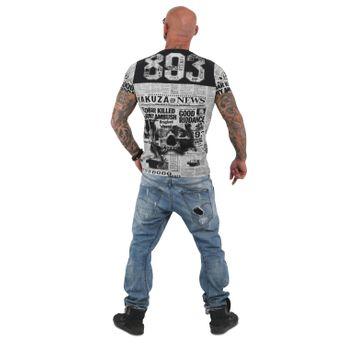 Yakuza Herren T-Shirt Escobar TSB 13044 schwarz online kaufen